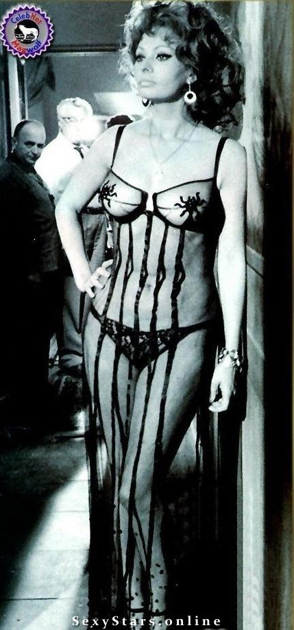 Sophia Loren Nackt. Fotografie - 18