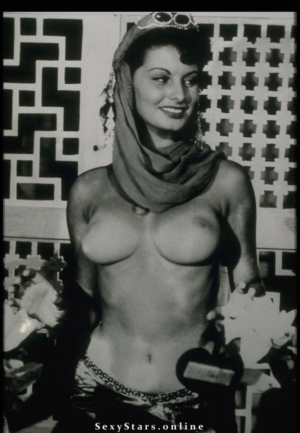 Sophia Loren Nackt. Fotografie - 2