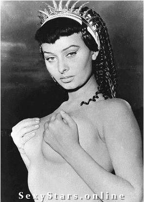 Sophia Loren Nackt. Fotografie - 20