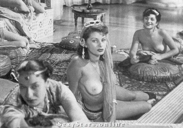 Sophia Loren Nackt. Fotografie - 22