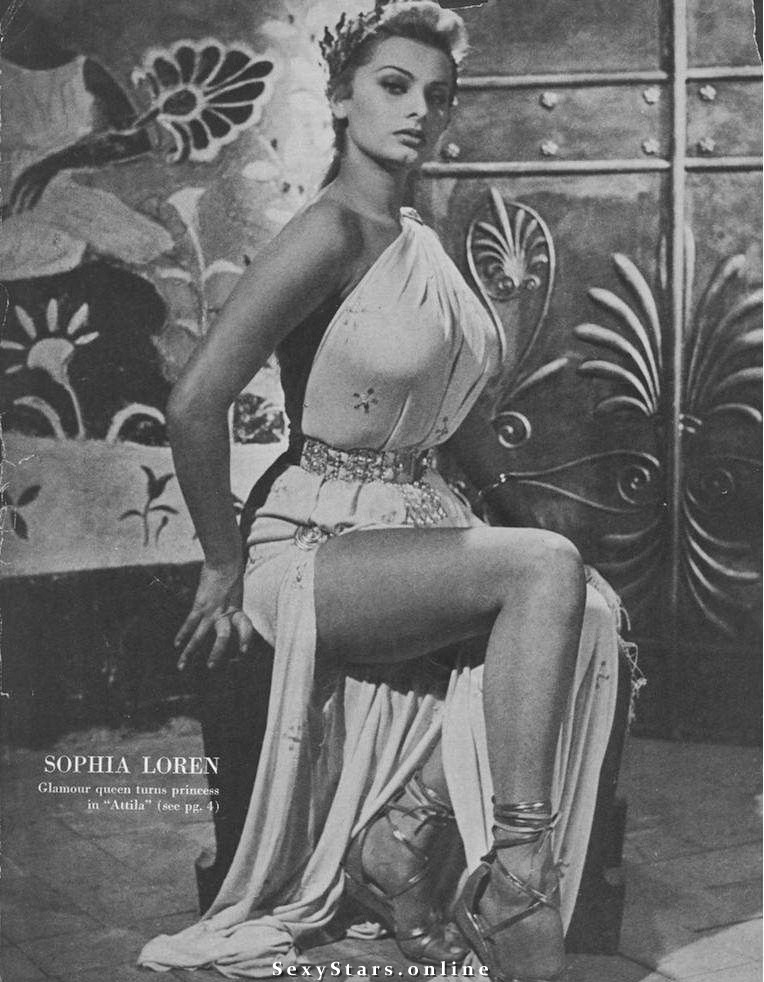 Sophia Loren Nackt. Fotografie - 29