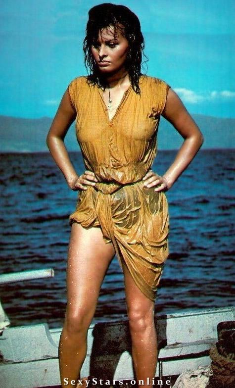 Sophia Loren Nackt. Fotografie - 31