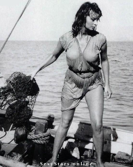 Sophia Loren Nackt. Fotografie - 32