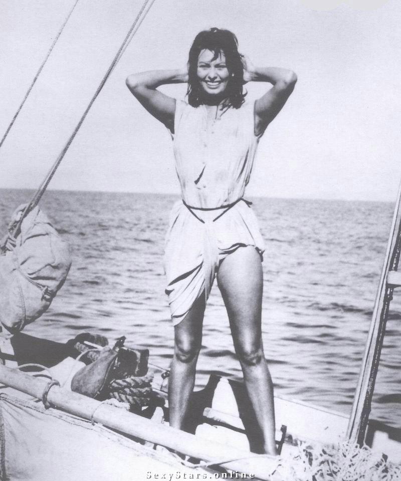Sophia Loren Nackt. Fotografie - 36