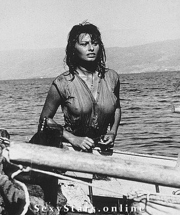 Sophia Loren Nackt. Fotografie - 37