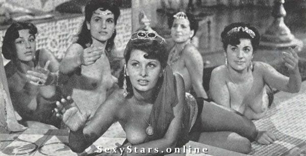 Sophia Loren Nackt. Fotografie - 42