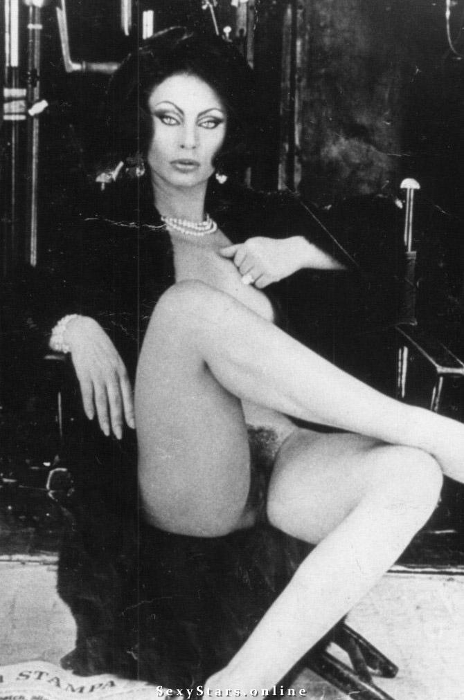 Sophia Loren Nackt. Fotografie - 43
