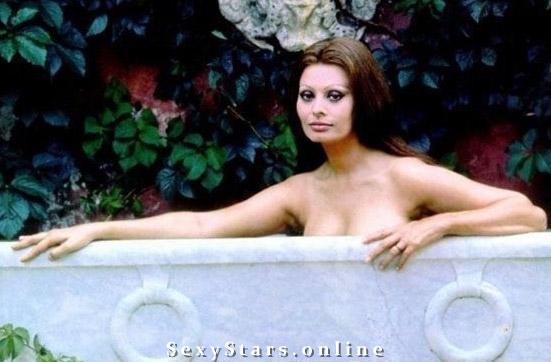 Sophia Loren Nackt. Fotografie - 6
