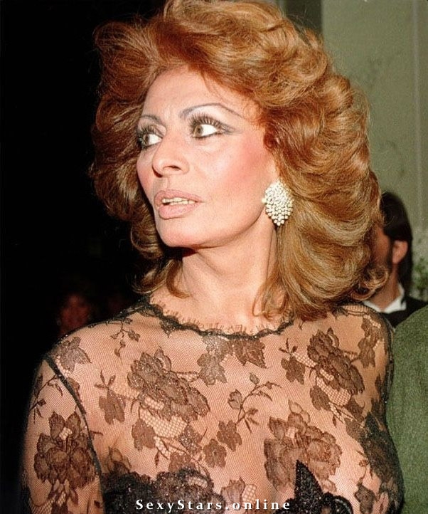 Sophia Loren Nackt. Fotografie - 7