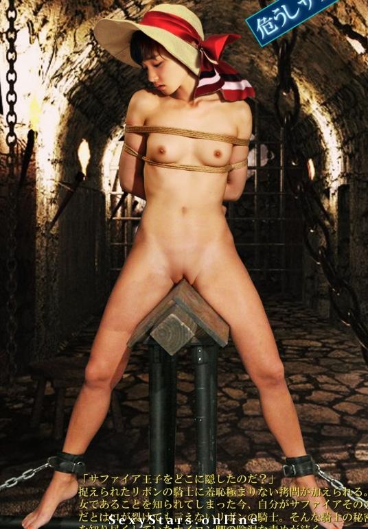 Аямэ Горики голая. Фото - 4