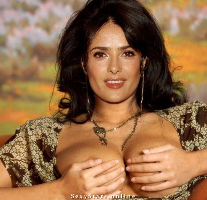 Salma Hayek nude. Photo - 18