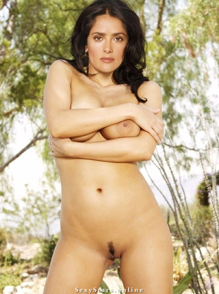 Salma Hayek nude. Photo - 31