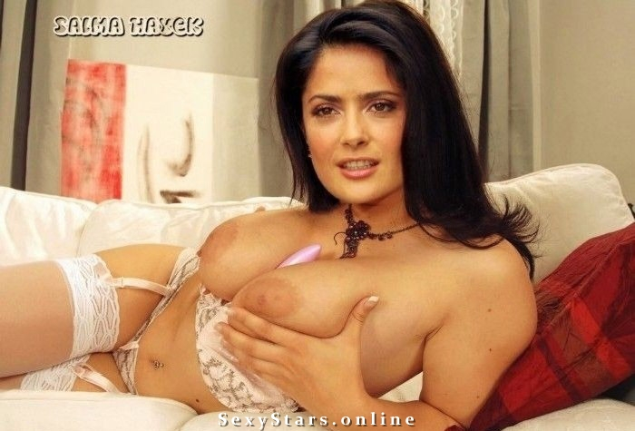 Salma Hayek nude. Photo - 35