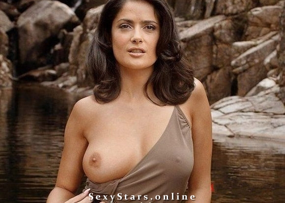 Salma Hayek nude. Photo - 38