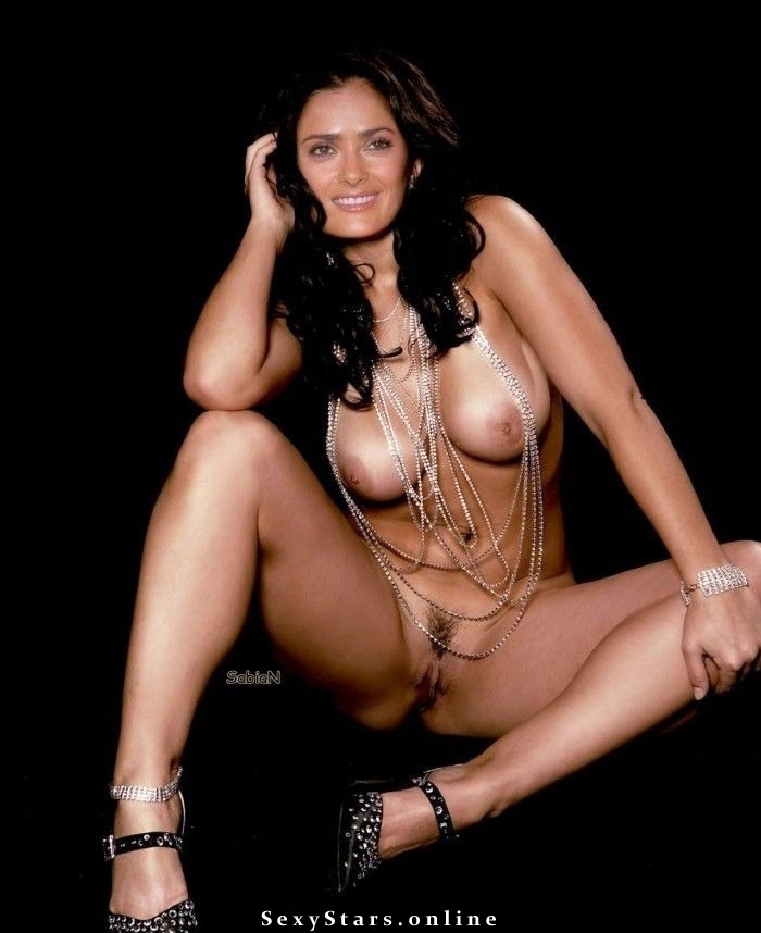 Salma Hayek nude. Photo - 7