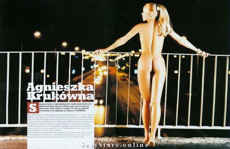 Agnieszka Krukówna Nackt. Fotografie - 10
