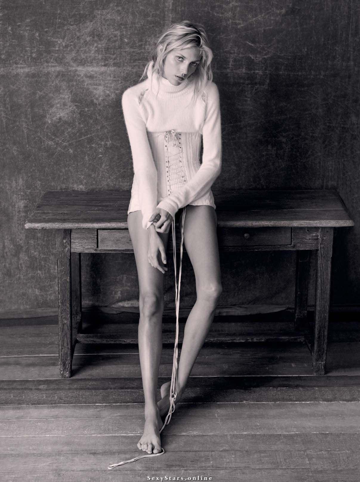 Anja Rubik Nackt. Fotografie - 83