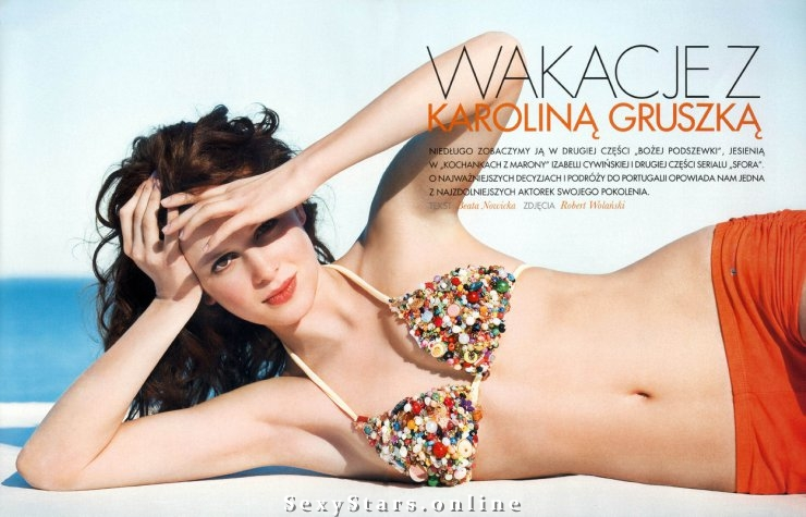 Karolina Gruszka nahá. Fotka - 7
