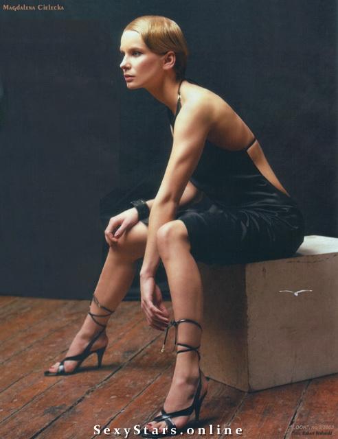 Магдалена Целецка голая. Фото - 20