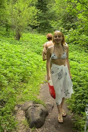 Альбина Ахатова голая. Фото - 4