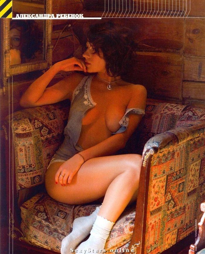 Александра Ребенок голая. Фото - 3