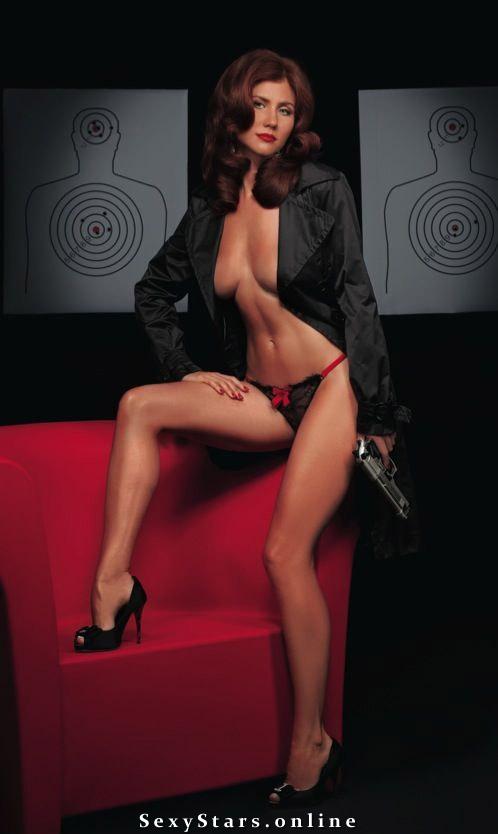 Анна Чапман голая. Фото - 2