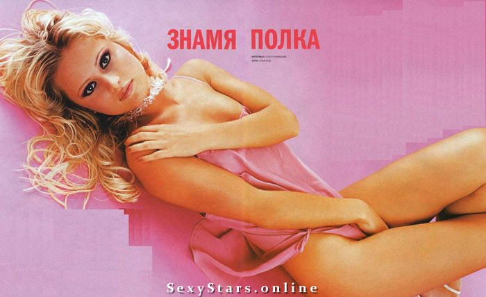 Дана Борисова голая. Фото - 3