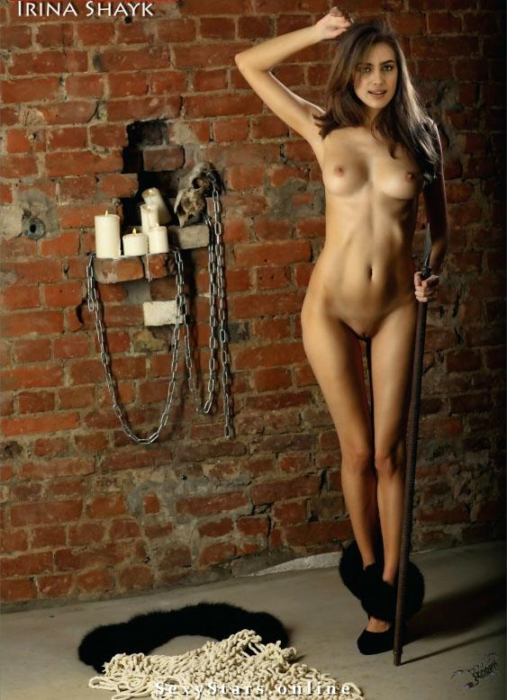 Ирина Шейк голая. Фото - 22