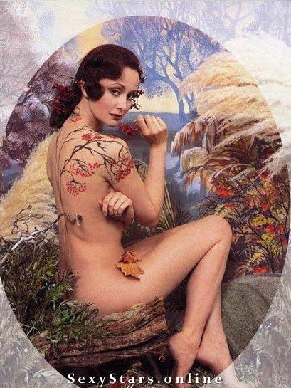 Ольга Кабо голая. Фото - 1