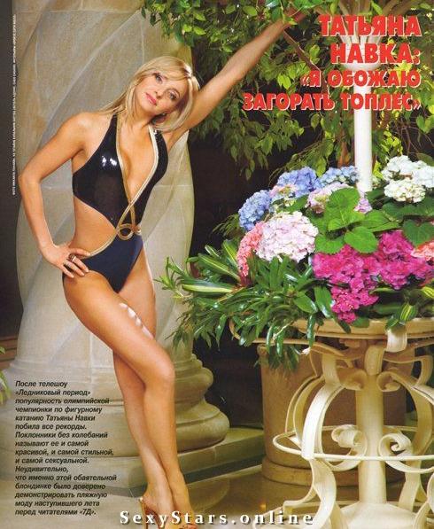 Татьяна Навка голая. Фото - 23