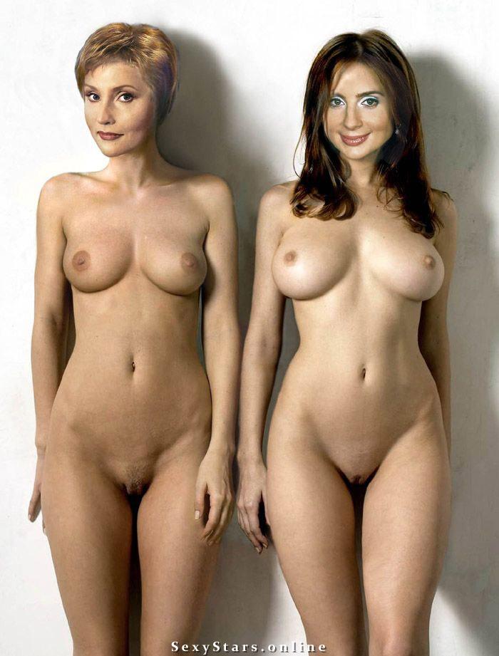 фото молодыми фото голых артистов украины и россии через