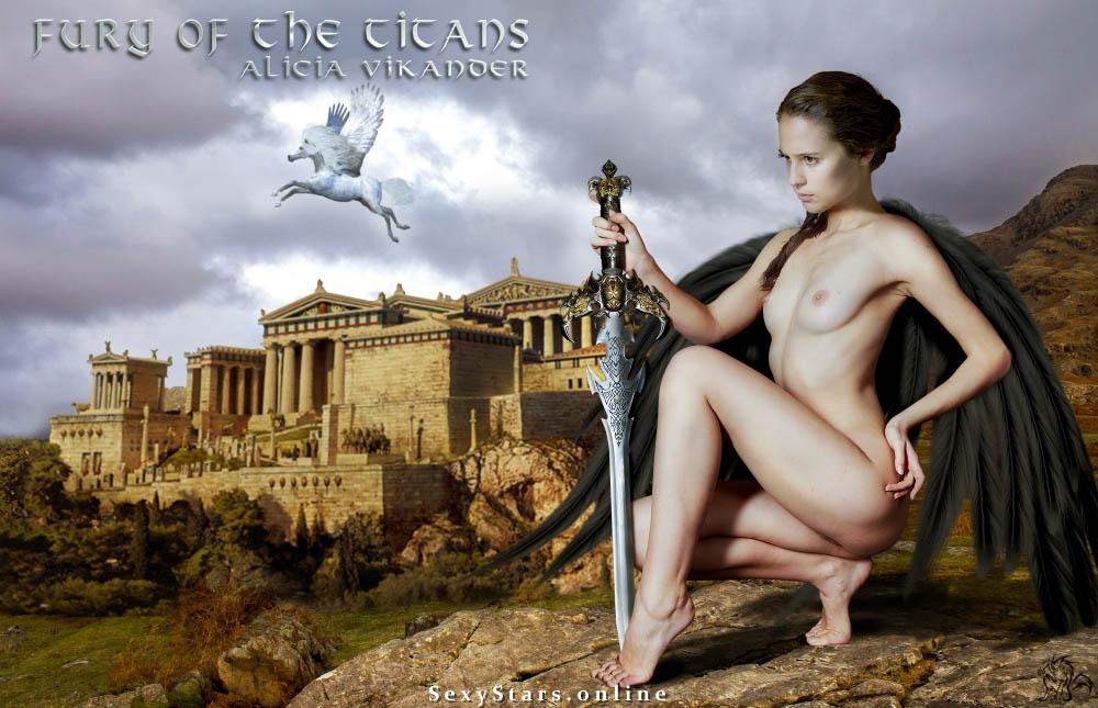 Алисия Викандер голая. Фото - 13