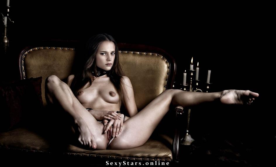 Алисия Викандер голая. Фото - 9
