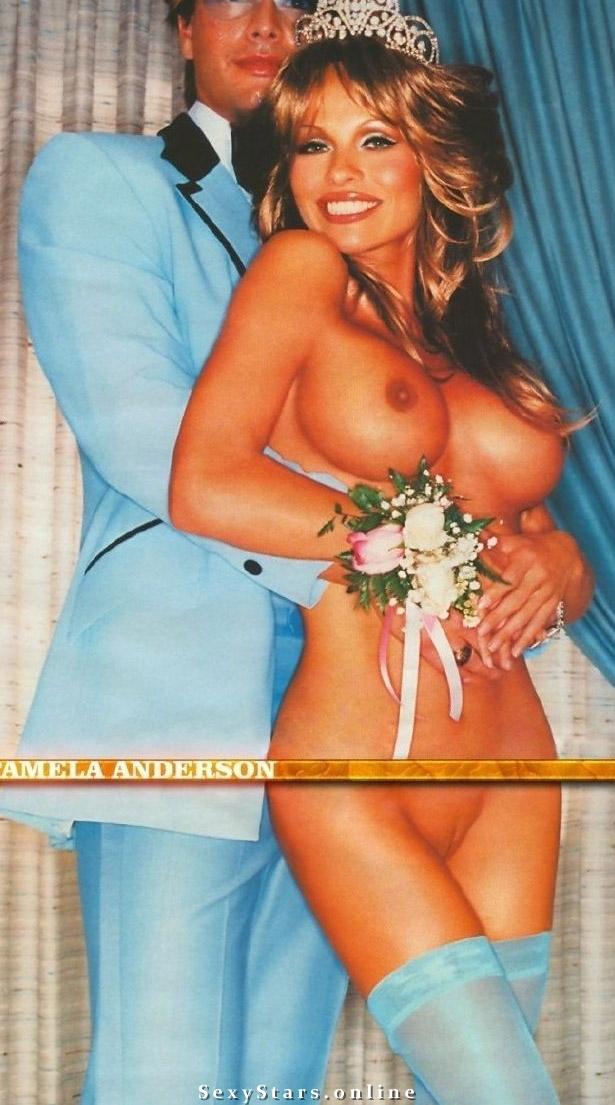 Памела Андерсон голая. Фото - 30