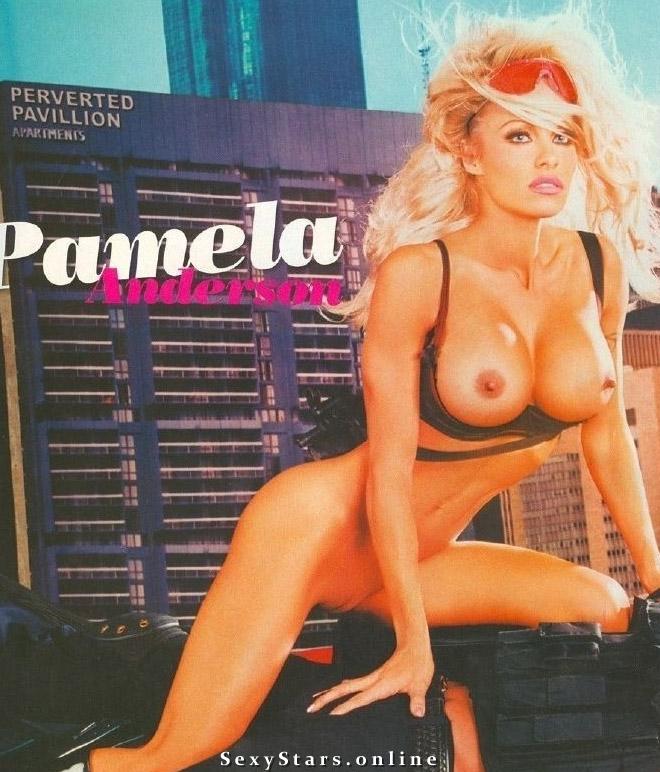 Памела Андерсон голая. Фото - 31