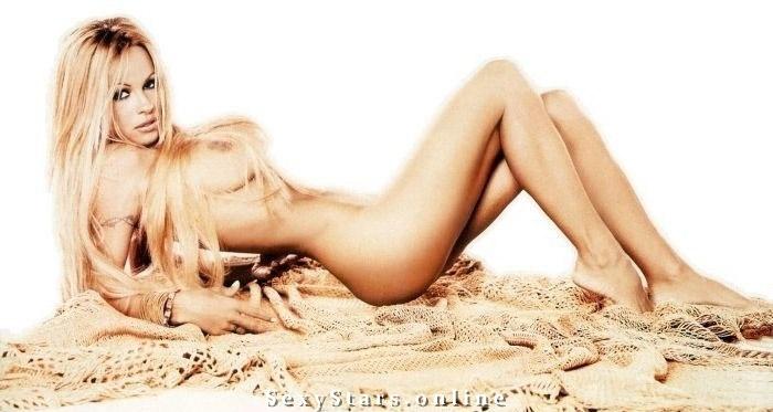 Памела Андерсон голая. Фото - 56