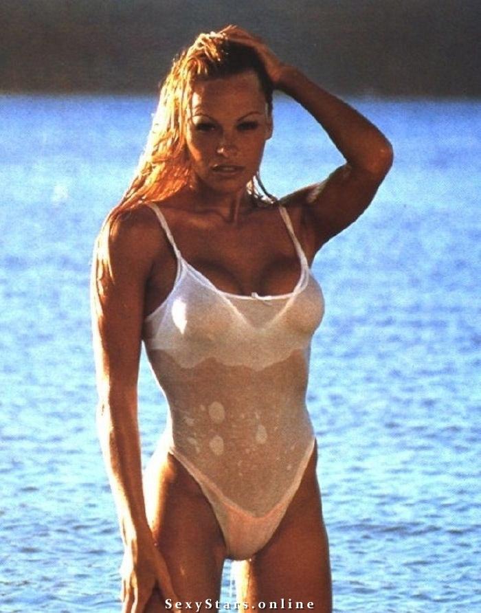 Памела Андерсон голая. Фото - 73