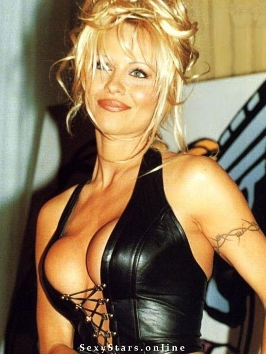 Памела Андерсон голая. Фото - 74