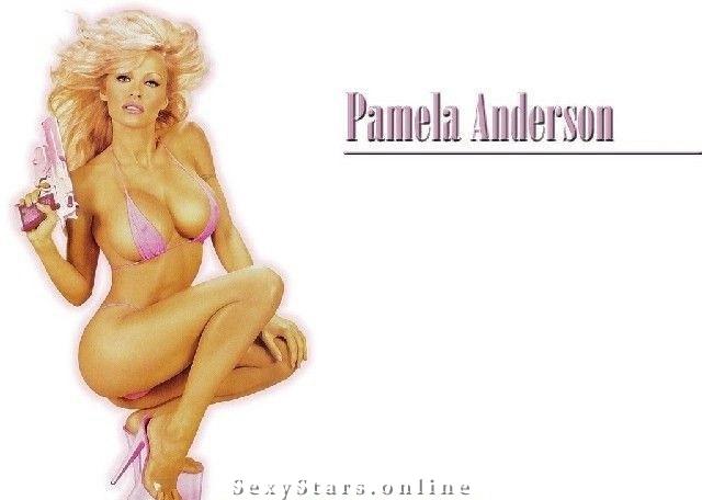 Памела Андерсон голая. Фото - 8