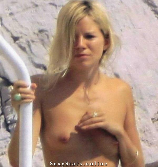 Sienna Miller nahá. Fotka - 11
