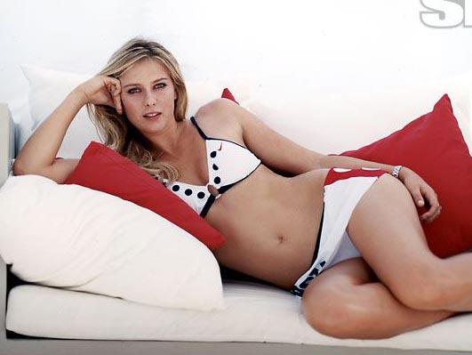 Мария Шарапова голая. Фото - 10