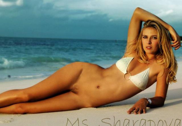 Мария Шарапова голая. Фото - 26
