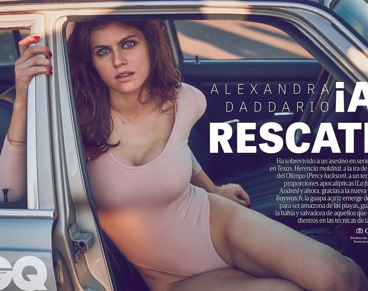 Alexandra Daddario nude. Photo - 46