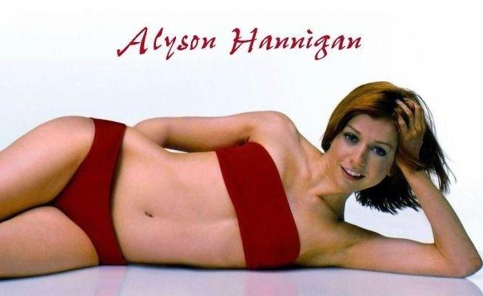Элисон Ханниган голая. Фото - 19
