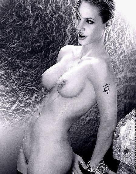 Angelina Jolie Nackt. Fotografie - 10