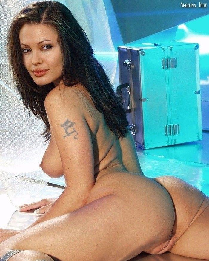 Angelina Jolie Nackt. Fotografie - 104