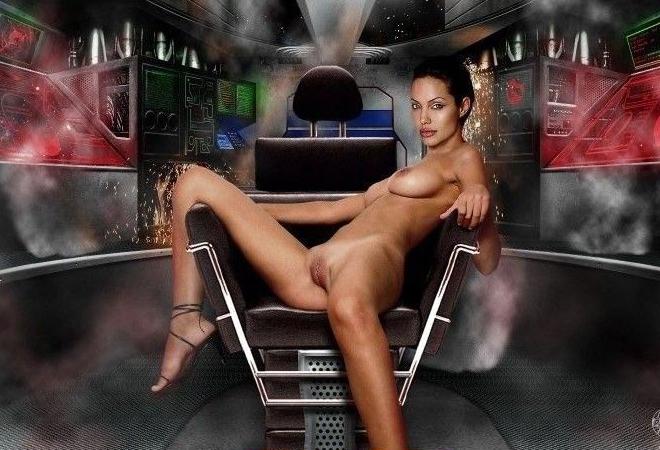 Angelina Jolie Nackt. Fotografie - 109