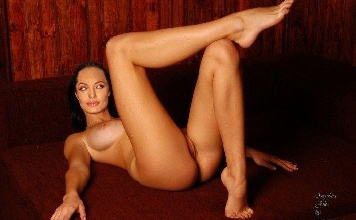 Анджелина Джоли голая. Фото - 125