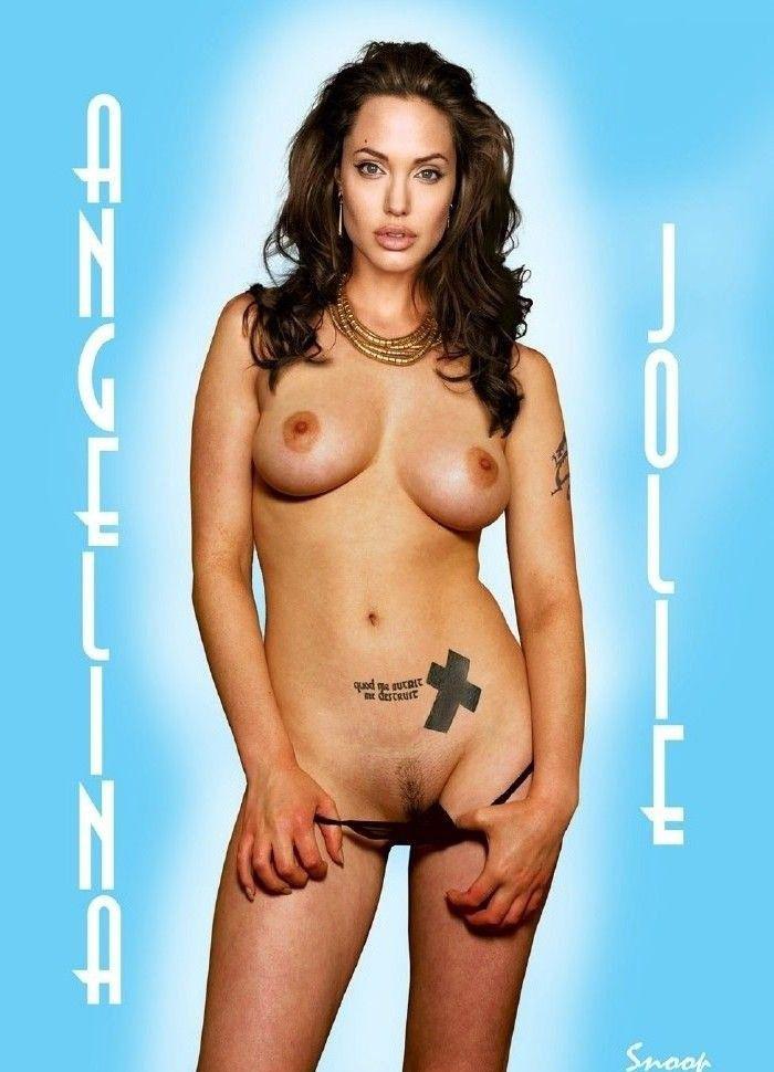 Angelina Jolie Nackt. Fotografie - 129