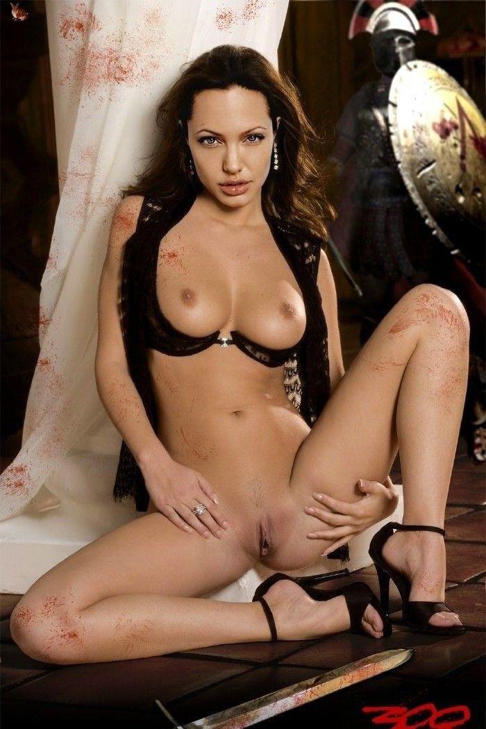Angelina Jolie Nackt. Fotografie - 130